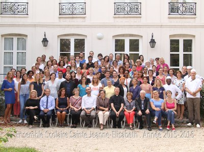 Groupe profs St Jeanne Elisabeth